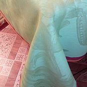 Для дома и интерьера handmade. Livemaster - original item Jacquard linen tablecloth