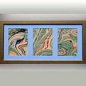 Картины и панно ручной работы. Ярмарка Мастеров - ручная работа живопись на воде 17. Handmade.