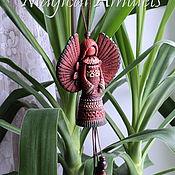 """Для дома и интерьера ручной работы. Ярмарка Мастеров - ручная работа Интерьерная подвеска """"Ангел-Хранитель"""". Handmade."""
