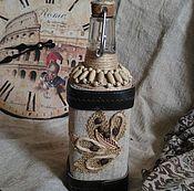 Посуда ручной работы. Ярмарка Мастеров - ручная работа Декоративная бутылка «Римские каникулы». Handmade.