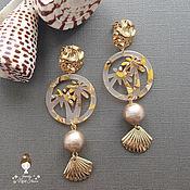 Украшения handmade. Livemaster - original item Luxury pearl earrings