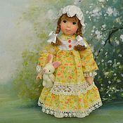 Куклы и игрушки ручной работы. Ярмарка Мастеров - ручная работа Кукла из  полимерной глины Асенька. Handmade.
