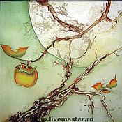 Картины и панно ручной работы. Ярмарка Мастеров - ручная работа Осень.Хурма. Handmade.