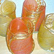 """Посуда ручной работы. Ярмарка Мастеров - ручная работа Набор стаканов """"Рубаи"""". Handmade."""