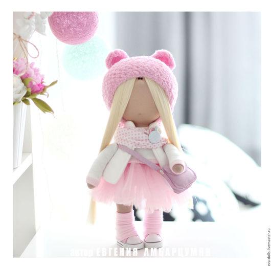 Текстильная куколка ручной работы. Интерьерная кукла.