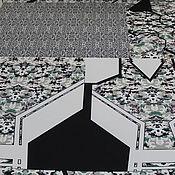 Купонный неопрен  с печатью PHILIPP PLEIN