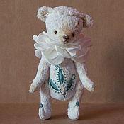 Куклы и игрушки ручной работы. Ярмарка Мастеров - ручная работа Мишка Зефирка. Handmade.