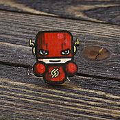 Украшения handmade. Livemaster - original item Wooden icon Flash. Handmade.