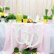 Свадебный салон ручной работы. Ярмарка Мастеров - ручная работа свадьба в белых тюльпанах. Handmade.