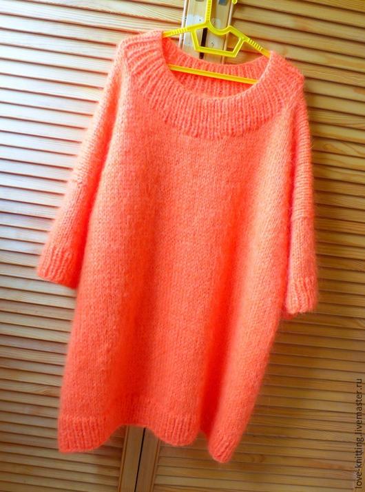 Кофты и свитера ручной работы. Ярмарка Мастеров - ручная работа. Купить Платье свитер ГЕРБЕРА. Handmade. Свитер, вязаная одежда