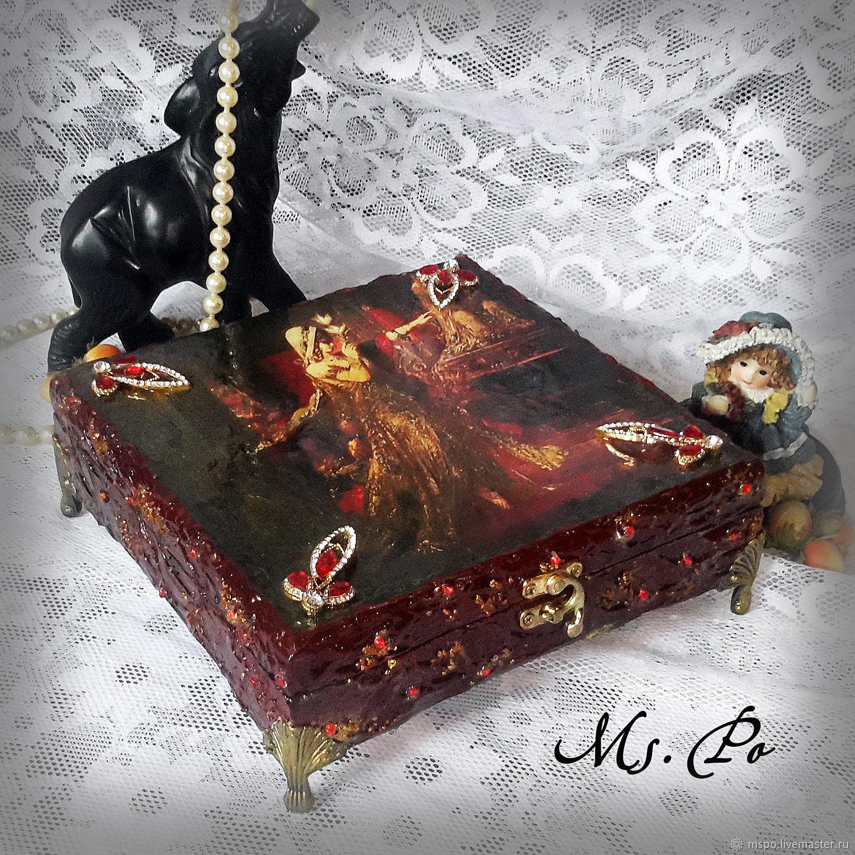 Trinket Boxes handmade. Livemaster - handmade. Buy El Estuche 'Solomeya'.