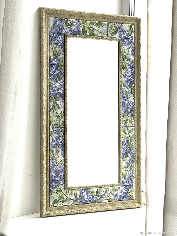 Painting mirrors Mirror lilac, Mirror, Kazan,  Фото №1
