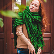 Аксессуары handmade. Livemaster - original item Scarf Juicy Grass. Handmade.