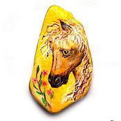 """Сувениры и подарки ручной работы. Ярмарка Мастеров - ручная работа """"Моя лошадка"""" камешек-магнит. Handmade."""
