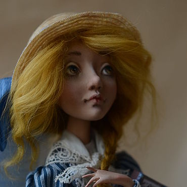 Dolls & toys handmade. Livemaster - original item Collectible doll Nelly series