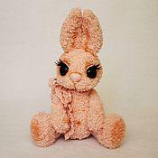 Куклы и игрушки ручной работы. Ярмарка Мастеров - ручная работа Зайка Эмили Роуз (вязаная крючком игрушка, рост 26 см). Handmade.