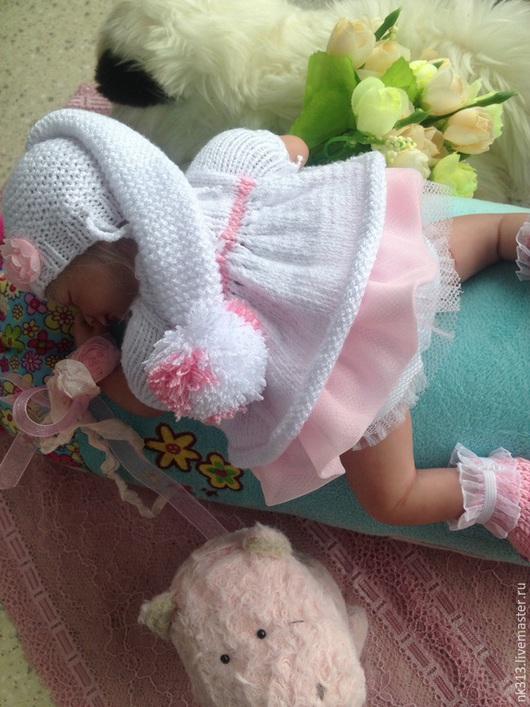 """Одежда для кукол ручной работы. Ярмарка Мастеров - ручная работа. Купить """"Розовые сны"""". Одежда для кукол. Handmade. Белый, кукла"""