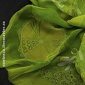"""Аксессуары ручной работы. Ярмарка Мастеров - ручная работа шарф """"Мохито"""". Handmade."""