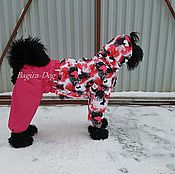 Для домашних животных, handmade. Livemaster - original item Winter overall