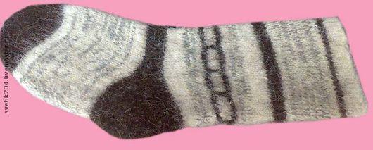 Носки, Чулки ручной работы. Ярмарка Мастеров - ручная работа. Купить Носки мужские из шерсти. Handmade. Носки мужские