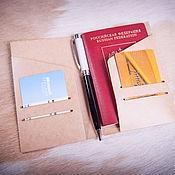 Канцелярские товары handmade. Livemaster - original item Paper folder-pocket Field Notes size. Handmade.