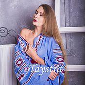 Одежда ручной работы. Ярмарка Мастеров - ручная работа Платье женское, вышитое, бохо, этно стиль, Bohemia. Handmade.