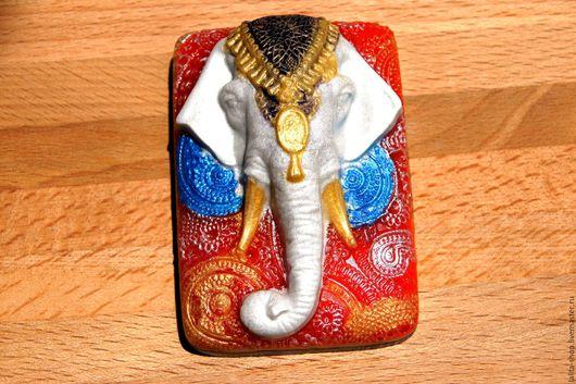 """Мыло ручной работы. Ярмарка Мастеров - ручная работа. Купить Мыло """"Белый слон"""". Handmade. Комбинированный, мыло ручной работы"""