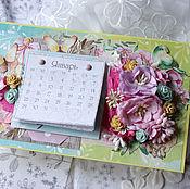 Канцелярские товары handmade. Livemaster - original item Table calendars. Handmade.