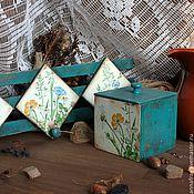 """Для дома и интерьера ручной работы. Ярмарка Мастеров - ручная работа Набор """"Луговой"""". Handmade."""