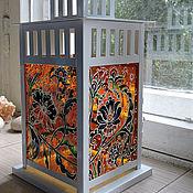 Для дома и интерьера ручной работы. Ярмарка Мастеров - ручная работа Фонарь-подсвечник СКАЗОЧНЫЙ. Handmade.