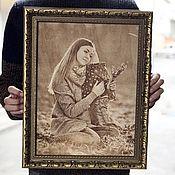 Картины и панно handmade. Livemaster - original item Pictures: Engraving photo on wood and plywood. Handmade.