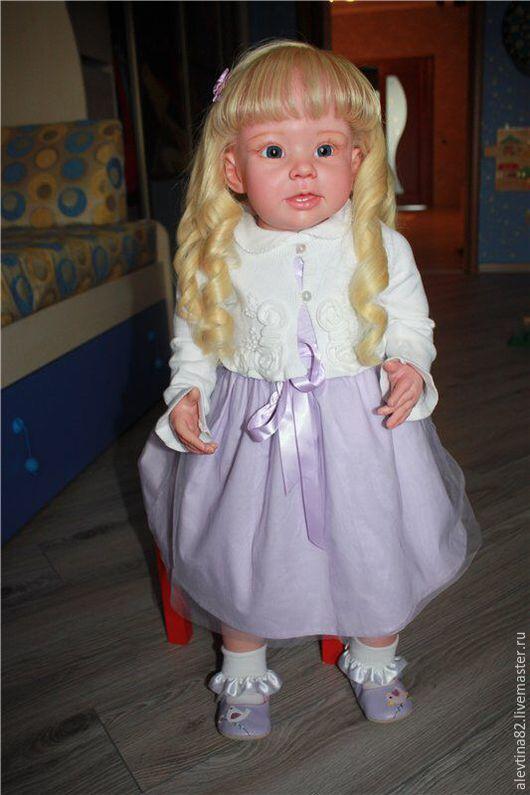 Куклы-младенцы и reborn ручной работы. Ярмарка Мастеров - ручная работа. Купить Девочка Снежанна из Молда Бонни. Handmade. Кремовый