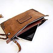 Сумки и аксессуары handmade. Livemaster - original item Men`s zipper clutch. Handmade.