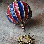 Подарки к праздникам handmade. Livemaster - original item Christmas ball. Handmade.