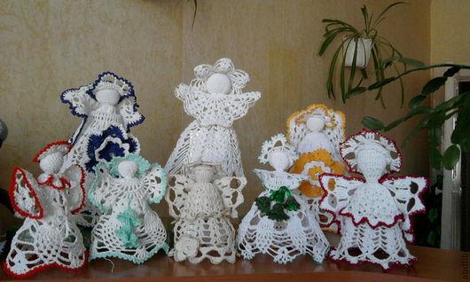 Сувениры ручной работы. Ярмарка Мастеров - ручная работа. Купить Ангел. Handmade. Белый, волшебство, любовь, хлопок 100%