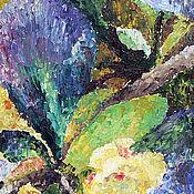 """Картины и панно ручной работы. Ярмарка Мастеров - ручная работа картина """"Цветы барбариса"""". Handmade."""