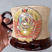 Посуда handmade. Livemaster - original item mug of the USSR. Handmade.