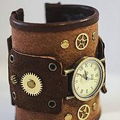 Часы наручные ручной работы. Ярмарка Мастеров - ручная работа Часы наручные стимпанк. Handmade.