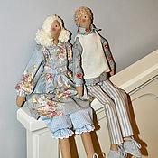 Куклы и игрушки handmade. Livemaster - original item The couple (dolls Tilde). Handmade.