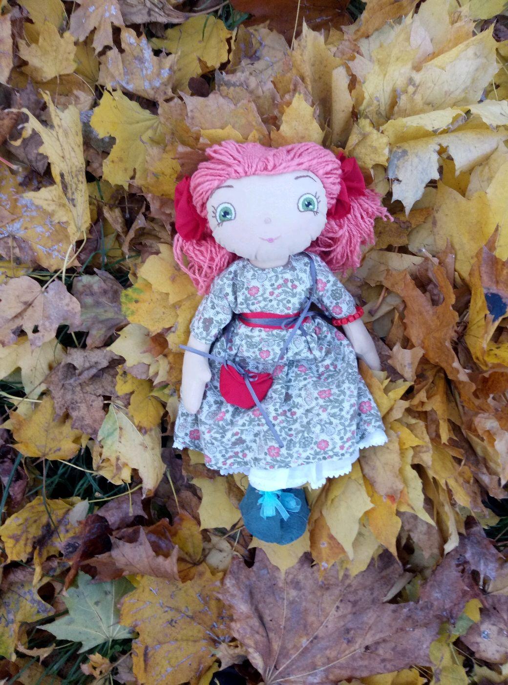 Кукла, Тыквоголовка, Одесса,  Фото №1