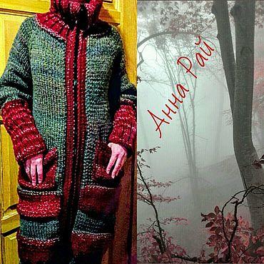 """Одежда ручной работы. Ярмарка Мастеров - ручная работа Тёплое Пальто """"Осенняя Листва"""" из Шерсти. Handmade."""