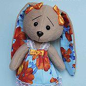 Куклы и игрушки ручной работы. Ярмарка Мастеров - ручная работа Зайка Мари (одежда снимается). Handmade.