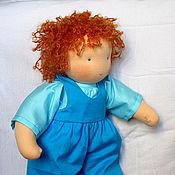 Куклы и игрушки ручной работы. Ярмарка Мастеров - ручная работа Вальдорфская кукла-мальчик 30-35 см. Handmade.