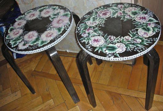 Мебель ручной работы. Ярмарка Мастеров - ручная работа. Купить Табурет.. Handmade. Розовый, акрил