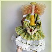 Куклы и игрушки ручной работы. Ярмарка Мастеров - ручная работа Кукла тильда. Ангел летнего солнышка. Handmade.