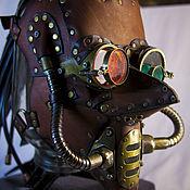 """Субкультуры ручной работы. Ярмарка Мастеров - ручная работа """"Dreaded goblin"""" - маска в стиле стимпанк. Handmade."""