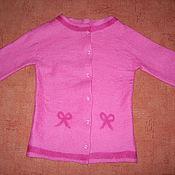 """Одежда ручной работы. Ярмарка Мастеров - ручная работа Жакет на пуговицах """"Бантик"""". Handmade."""