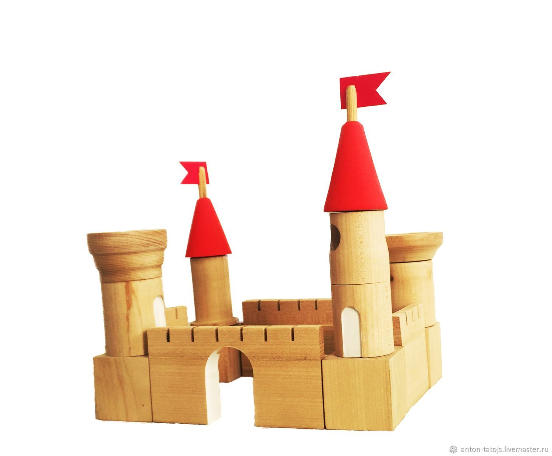 Детская ручной работы. Ярмарка Мастеров - ручная работа. Купить Деревянный замок конструктор. Handmade. Гарри Поттер, деревянная игрушка