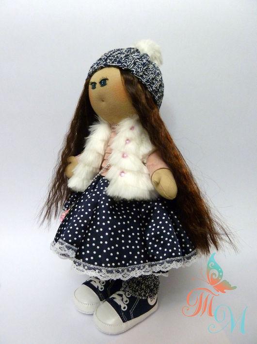 Коллекционные куклы ручной работы. Ярмарка Мастеров - ручная работа. Купить Авторская интерьерная текстильная кукла. Handmade. Кукла, большеножка