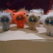 Куклы и игрушки ручной работы. Ярмарка Мастеров - ручная работа Вязаный котёнок Гав. Handmade.